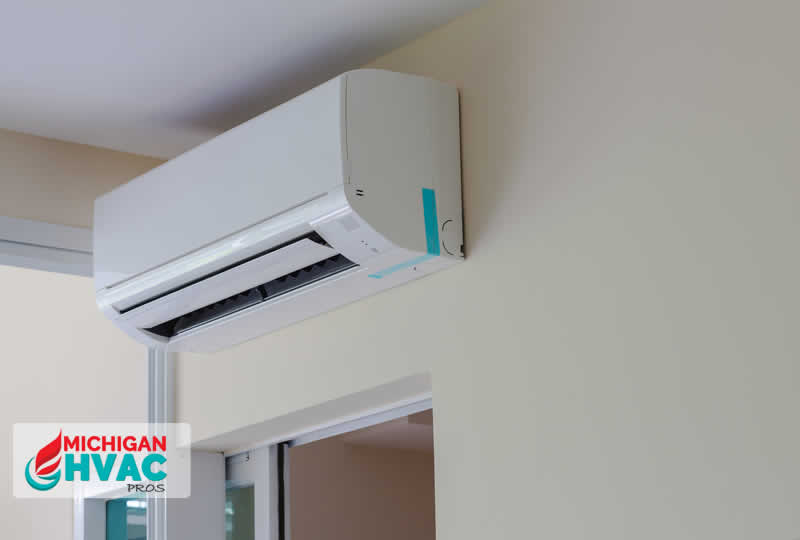 Installing a Ductless AC in Michigan