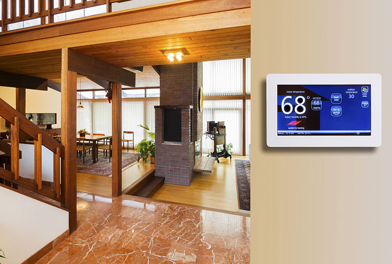 Programmable Thermostat in Michigan