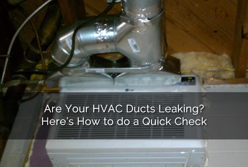 Check Your Hvac Ducts   Michigan Hvac Pros