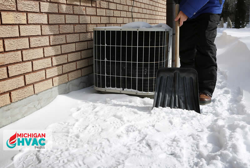 How to Protect Your HVAC System from Snow and Ice in Michigan